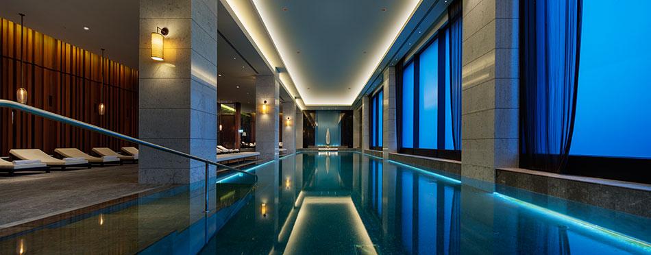 Pool lighting, Hilton Istanbul Bomonti Gallery | LED Linear™